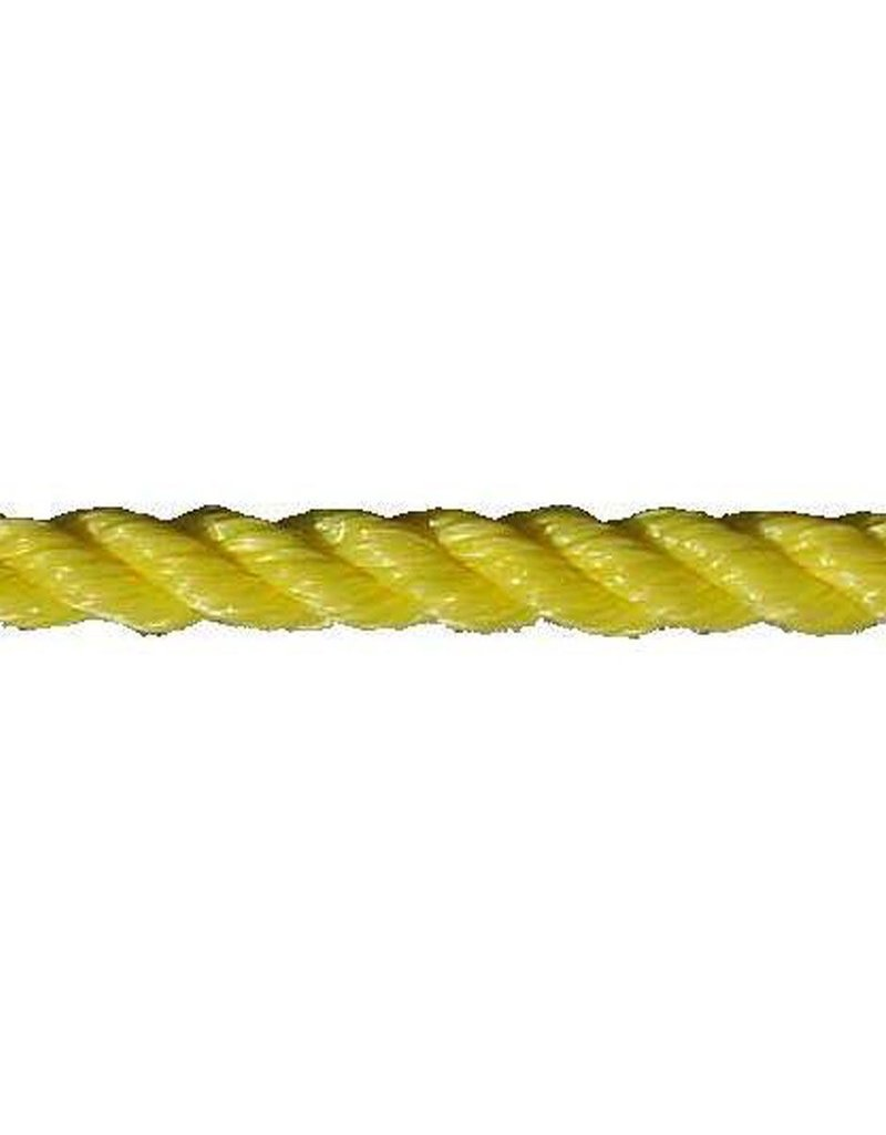 "All Gear Inc. 3-Strand Twisted Polypropylene  3/16"" to 2"" 3-Strand Twisted Polypropylene. High Strength and Good Elasticity.  Excellent for general purpose, Medium Duty Pull Line."