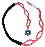 """All Gear Inc. Husky-12  - """"Soft Rig Sling"""" 1/2"""" X 8' with Low Friction Ring & Chafe Cover"""
