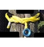 "All Gear Inc. Husky-12  - ""Soft Rig Sling"" 5/8"" X 10' LOW FRICTION RING WITH CHAFE SLEEVE"