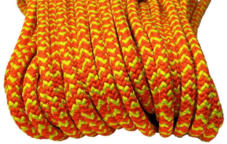 All Gear Inc. Safetylite 16-Strand Braided Polyester 1/2' x 120'