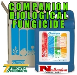 Growth Products A broad-spectrum biological fungicide for soil-borne and foliar diseases Companion's GB03 strain of Bacillus subtilis has multiple modes of action to prevent and control plant diseases. It produces a broad-spectrum Iturin antibiotic that disrupts the cel