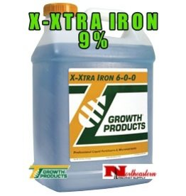 Growth Products X-Xtra Iron 6-0-0 (9%) in a 2.5 Gallon Jug