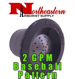 Green Garde® Flooding Nozzles For use with JD9® Gun, 2gpm, Baseball Pattern
