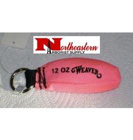 Weaver Hot Pink 12oz Throw Bag / Weight