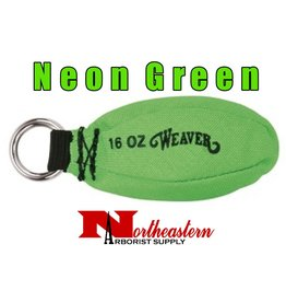 Weaver Neon Green 16 oz Throw Bag / Weight