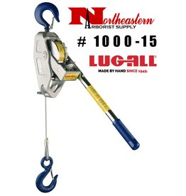 LUG-ALL Model 1000-15, 1/2 Ton Cable Hpist