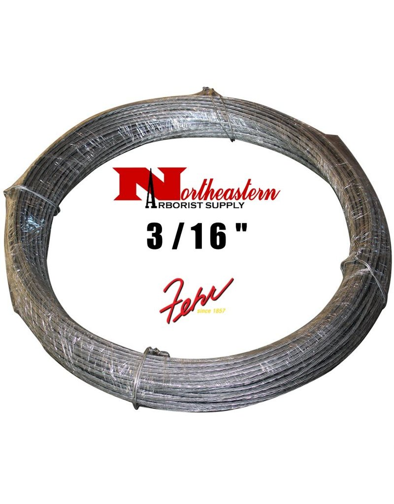 "Fehr Bros. Cable Common Grade 3/16"" x 250'"