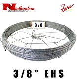 "Fehr Bros. Cable EHS Grade 3/8"" X 150"" with dispenser cage"