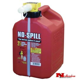 NO-SPILL® Red 2.5 Gallon Gas Can #1405
