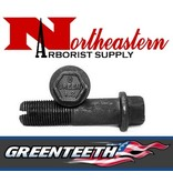 "GreenTeeth Bolt, Allen Head, 2+1/2"" for 1+1/2"" Wheel Hex Head for Green Pockets"