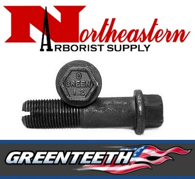 "Greenteeth® Bolt, Allen Head, 3"" for 1+1/2"" Wheel Hex Head for Green Pockets"