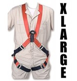 "Bashlin Full Body Harness, 683XC Series: ""X"" Style, XLarge"