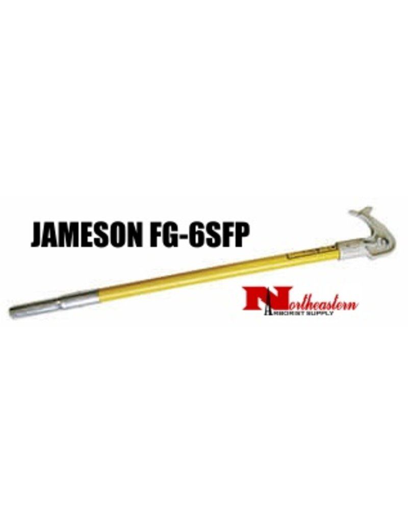 Jameson Hollow Core Pole with Permanently Mounted Saw Head, Male Ferrule