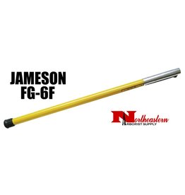 Jameson Hollow Core Base Pole with Rubber End Cap and Female Ferrule, 6'