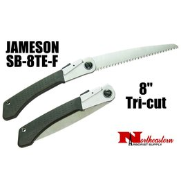 "Jameson Hand Saw, Folding Tri-cut 8"" Blade"