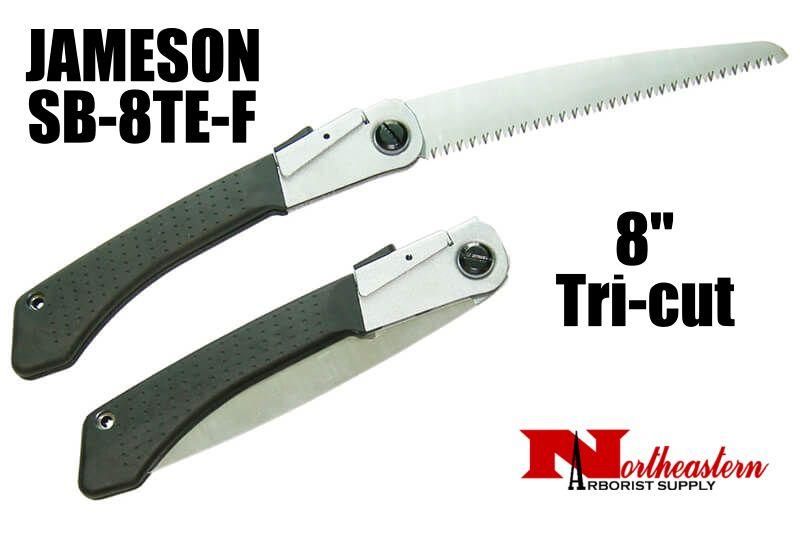 "Jameson Folding Hand Saw with Tri-cut 8"" Blade"