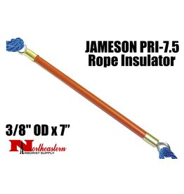 "Jameson Pruner Rope Insulator, 3/8"" OD x 7"", Breaks Electrical Current"