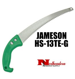 "Jameson Barracuda™ 13"" TRI-CUT Handsaw with Green Handle"