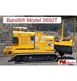 Bandit® Model 2650T Track Drive Stump Grinder