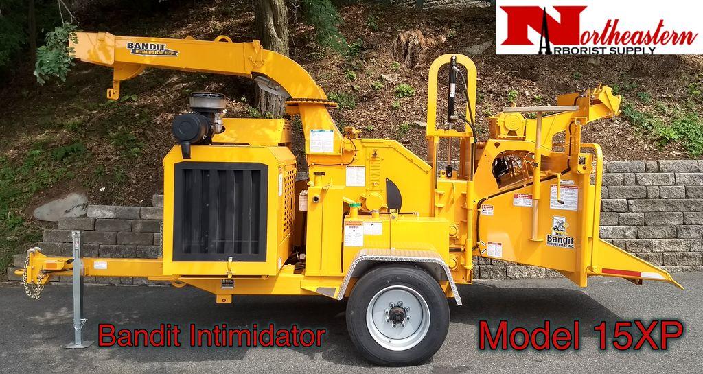 Bandit® Model 15XP Intimidator, Perkins 122.5hp Diesel Engine