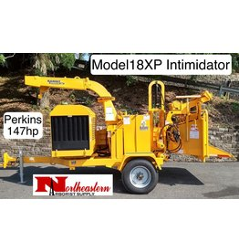 Bandit® Model 18XP Intimidator, Perkins 147hp Diesel Engine