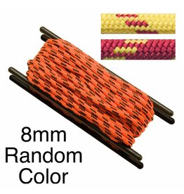 Teufelberger Accessory Cord, Polyester, 8mm, Random Color, per Foot 2,450# MBS