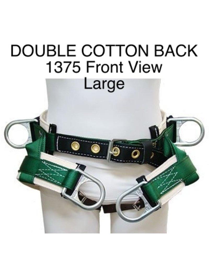 Buckingham Saddle, DOUBLE COTTON BACK #1375 Large