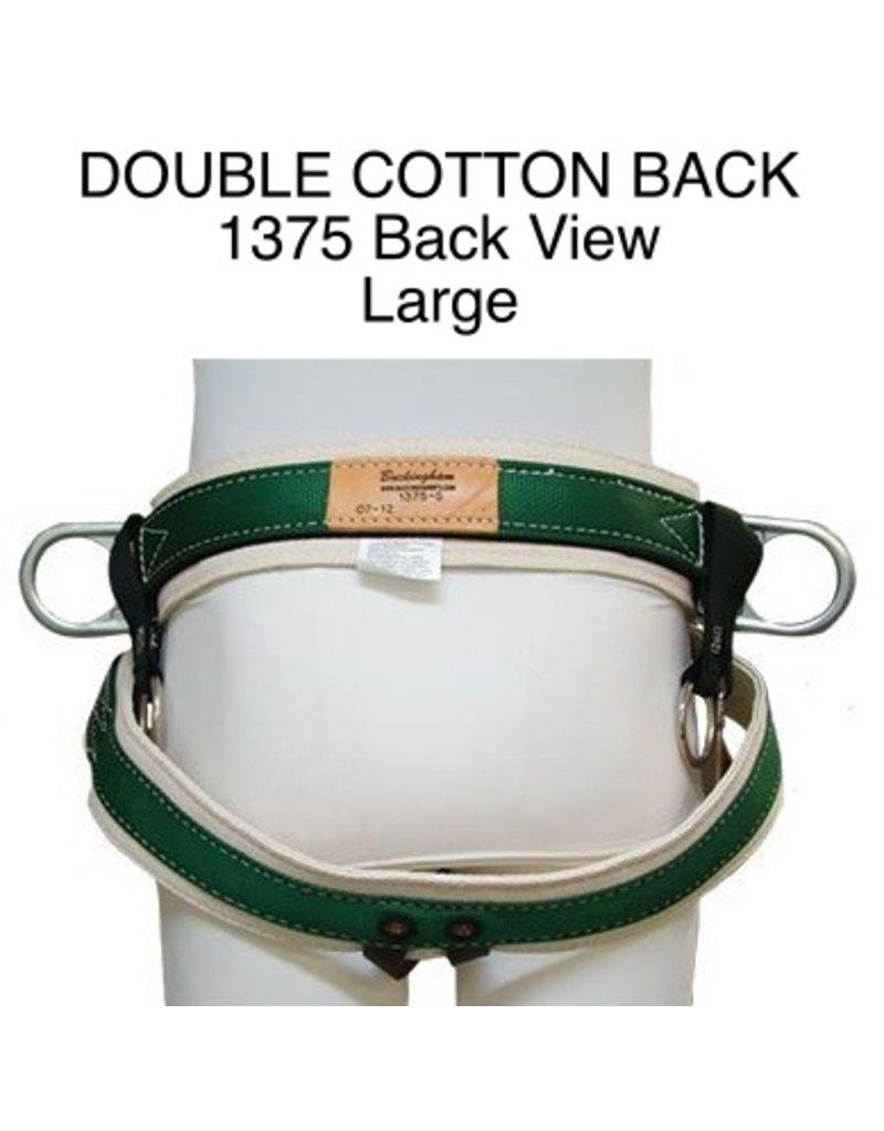Buckingham DOUBLE COTTON BACK SADDLE – 1375, Large
