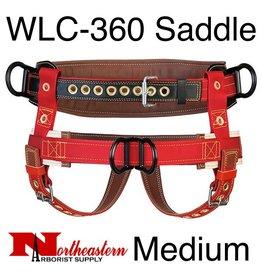 Weaver 2 Floating Dee Extra Wide Back Saddle Medium