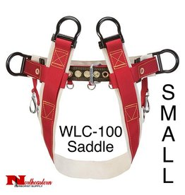 Weaver 4-Dee Single Thick Saddle No Leg Straps Small