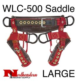 Weaver Saddle, WLC-500 with Padded Nylon Leg Straps Size Large