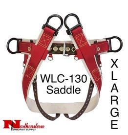 Weaver WLC-130 Saddle with Heavy-Duty Coated Webbing Leg Straps, XLarge