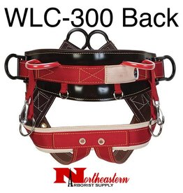 """Weaver WLC-300 Saddle 4-Dee Extra Wide Back with 2"""" wide Leg Straps"""