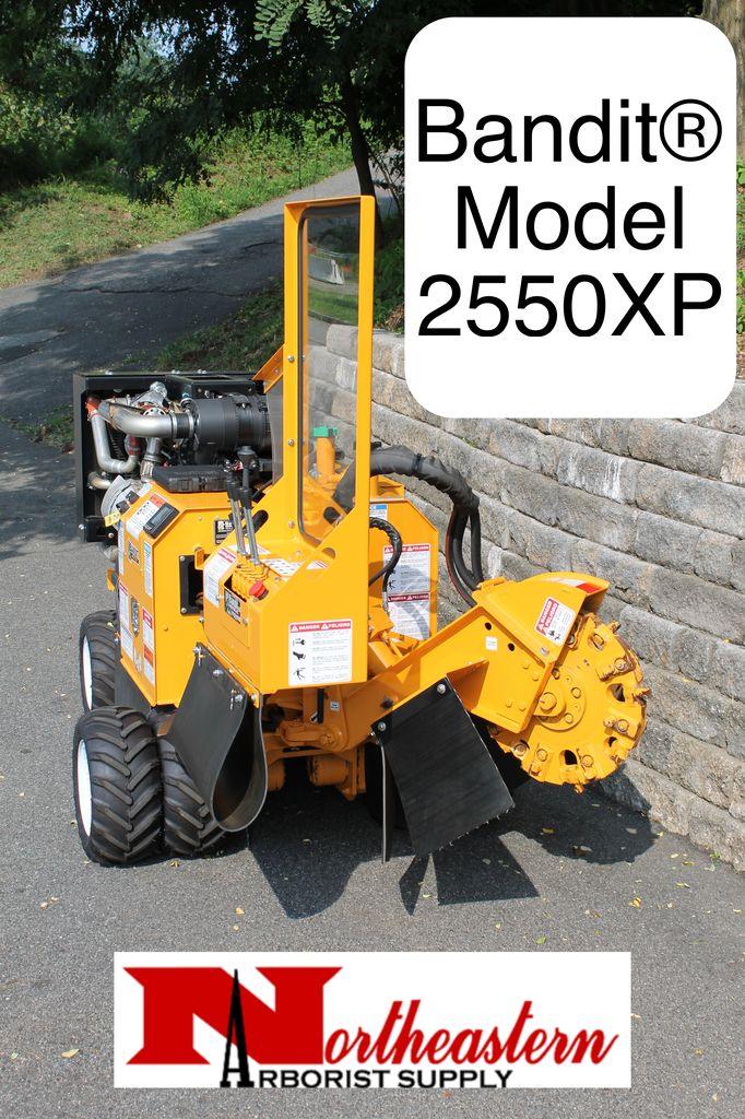 Bandit® Model 2550XP - Self-Propelled Stump Grinder, Kohler, 49hp Diesel