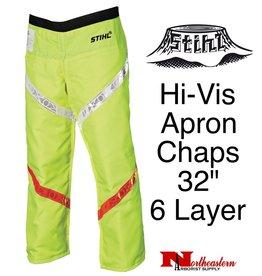 Stihl Hi-Vis Apron Chaps, Select Length