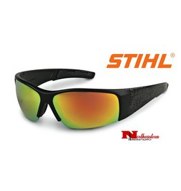 Stihl Black Wrap Protective Glasses