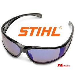 Stihl Comfort Fit Glasses, Black frame, Blue Lens