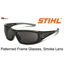 Stihl Patterned Frame Glasses with Smoke Lens