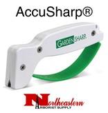 AccuSharp® Garden Tool Sharpener - White with Green
