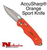 AccuSharp® Orange Sport Knife