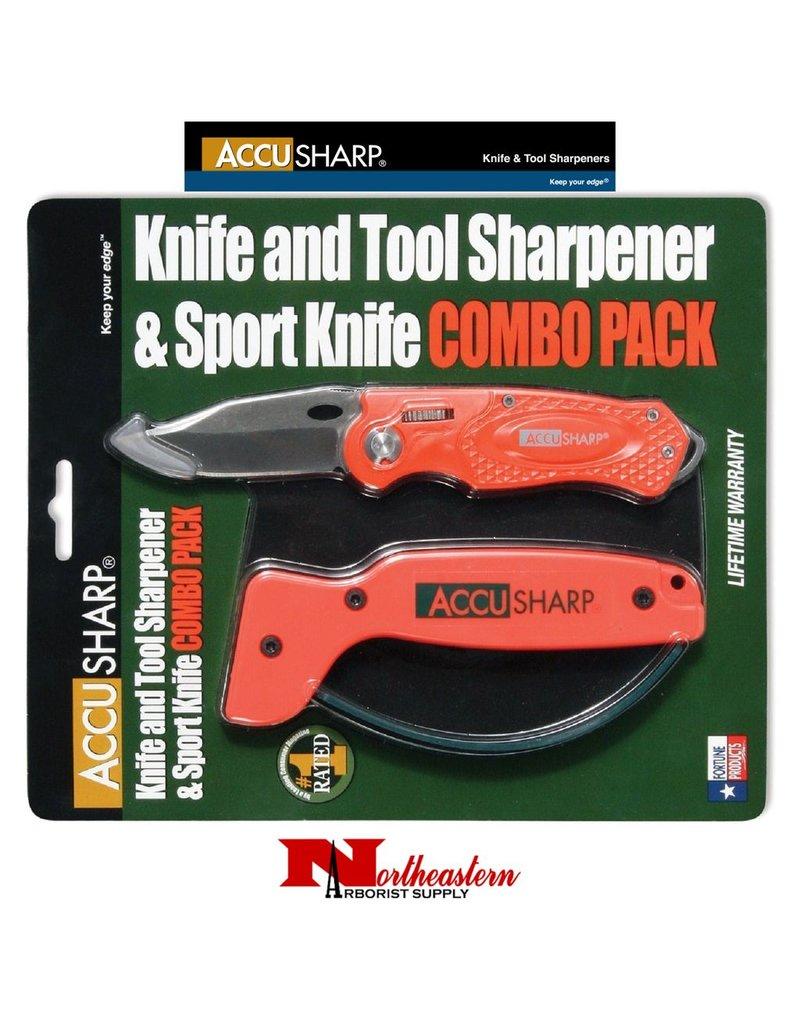 AccuSharp® Blaze Orange Combo Pack