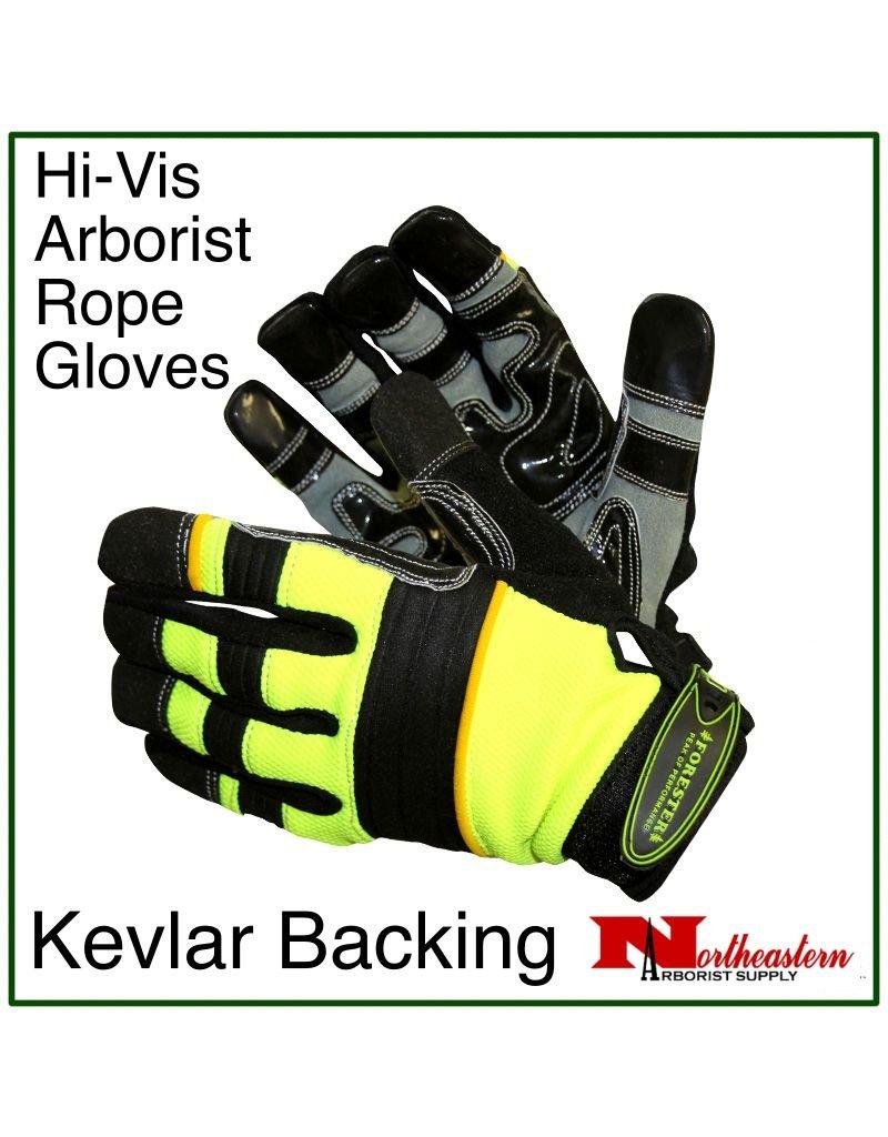 Forester Hi-Vis Arborist / Rope Gloves