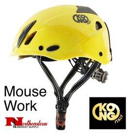 KONG Mouse WORK Climbing Helmet, Yellow