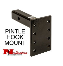 "Pintle Mount Plate, 3 Position, 2"" x 10"" Shank 13,000# MGTW"