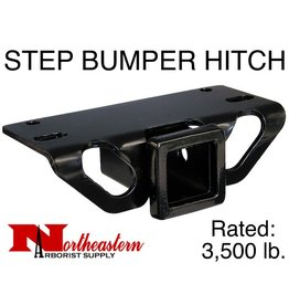 STEP BUMPER HITCH, Rated to 3,500# M.G.T.W.