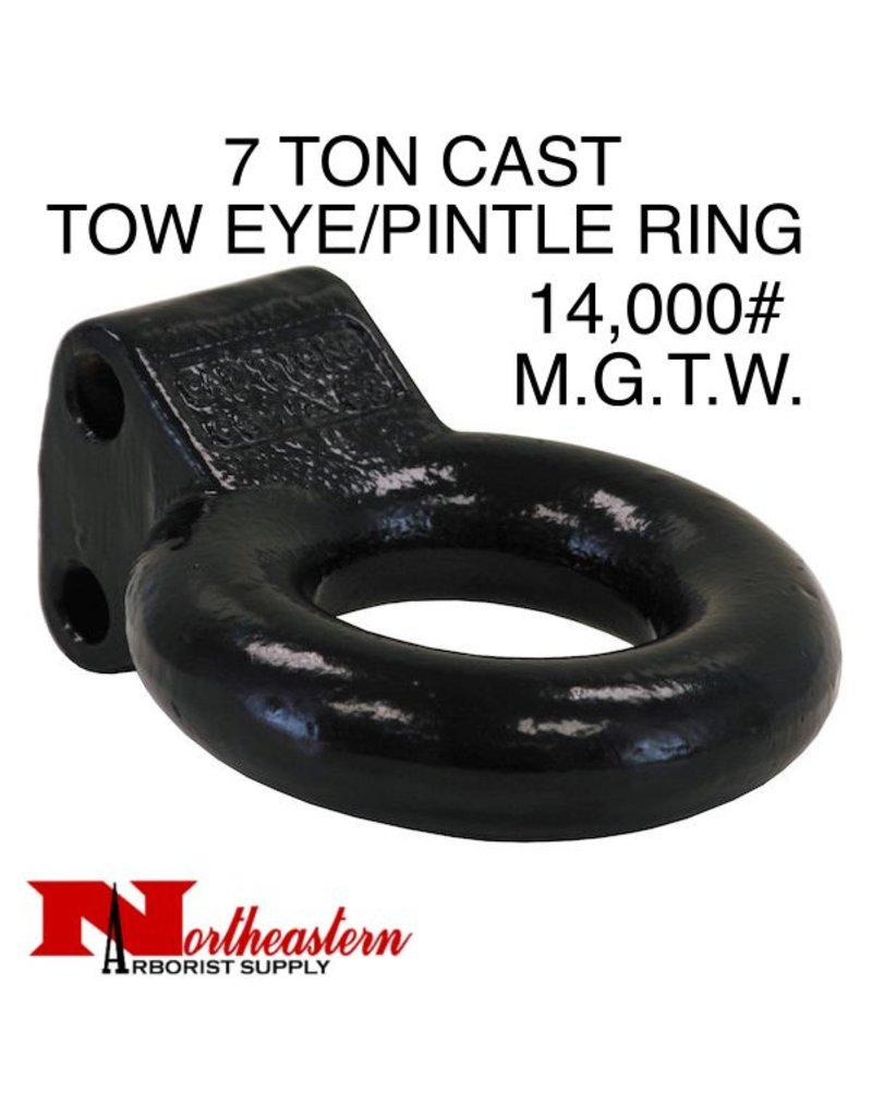 "Pintle Ring/Tow Eye 3"" ID, 7 Ton M.G.T.W."