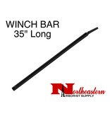 "Winch Bar, Black 35"" Long"