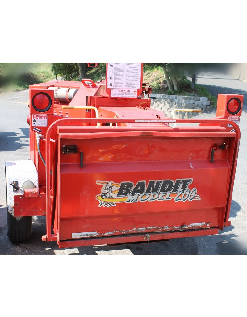 Bandit® Model 200XP,Perkins 84.5hp, Red, FULL Engine Rebuild
