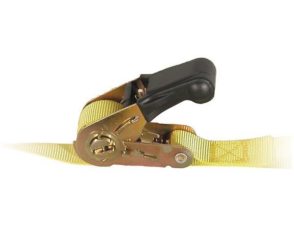 Ratchet Tie Down Strap 1'' X 12' Working Load Limit 600lbs.