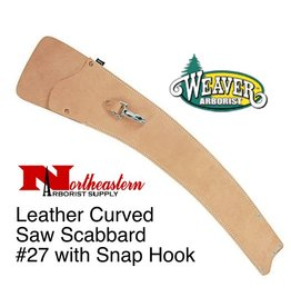 Weaver Curved Saw Scabbard #27 with Snap Hook